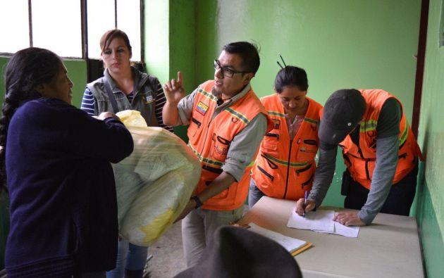 Foto: Secretaría de Gestión de Riesgos.