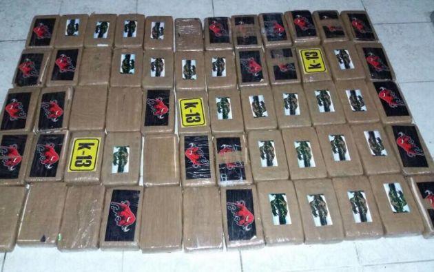 Más de 340 kilos de cocaína fueron decomisados durante un operativo en Guayaquil, la mañana de este 30 de abril.