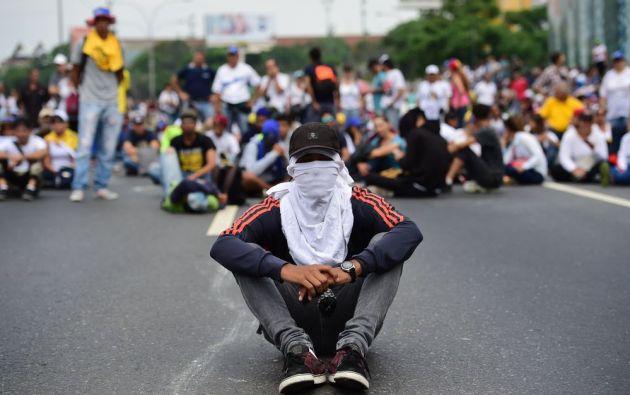 Los venezolanos, simpatizantes del Gobierno y de la oposición, vuelven a marchar hoy en Caracas cuando en Venezuela.
