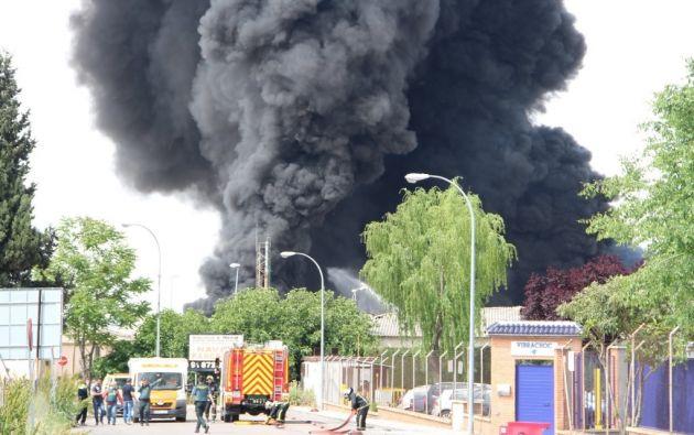 La explosión obligó además a desalojar tres colegios y dos institutos de enseñanza secundaria.  Foto: El Mundo