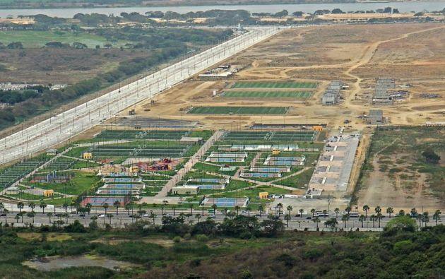 El Parque Samanes es una de las obras, de varias etapas, que impulsa el Gobierno y que inicialmente fueron construidas en terrenos del ISSFA. Foto: Archivo