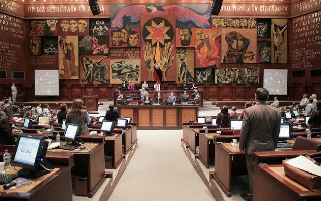 Ochenta y siete de los 137 asambleístas serán debutantes en los procedimientos parlamentarios. Ellos se posesionan el 14 de mayo. Foto: Flickr de Asamblea