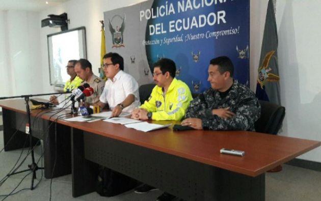 Las sustancias ilícitas pretendían ser embarcadas en lancha rápida desde la parroquia Anconcito en Santa Elena. Foto: Ministerio del Interior.