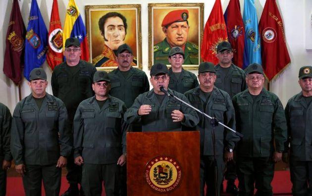 """CARACAS, Venezuela.- El Ministro de Defensa dijo que no existe """"tal cantidad de oficiales por subversión"""" y que la información es falsa. Foto: Tomado de El Nuevo Herald."""