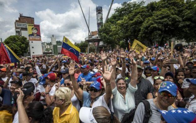 Desde el 1 de abril una ola de protestas han dejado al menos 37 muertos y más de 700 heridos.| Foto: AFP
