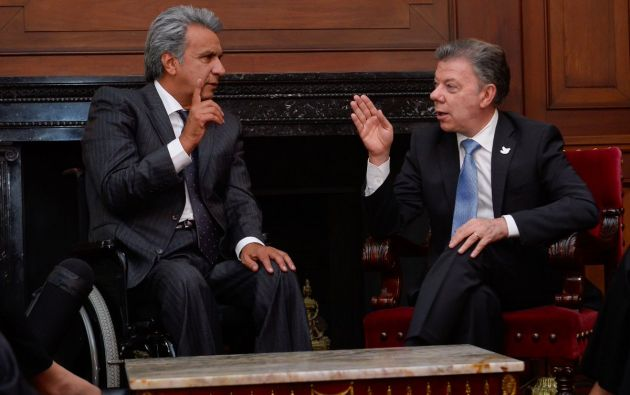 Foto: Twitter / Juan Manuel Santos.