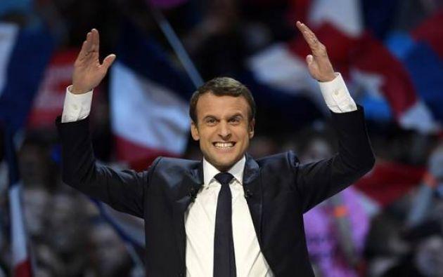 El centrista Emmanuel Macron, de 39 años, fue elegido este domingo presidente de Francia.|Foto: AFP