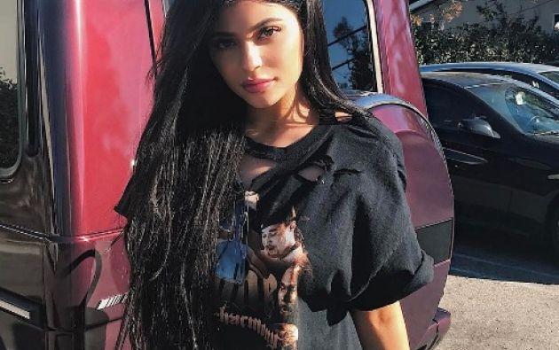Kylie fue criticada por el abuso de Photoshop y cirugías. Foto: Instagram Kylie Jenner.