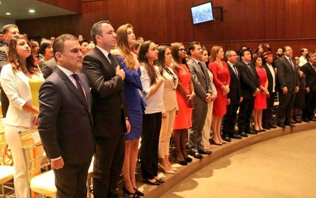 La nueva Asamblea tomará posesión el próximo 14 de mayo. Foto: Twitter / Presidencia CNE.