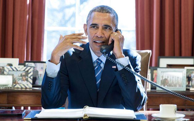 Luego de sus largas vacaciones por el Caribe, Obama ha vuelto a la esfera pública.| Foto: Obama library.