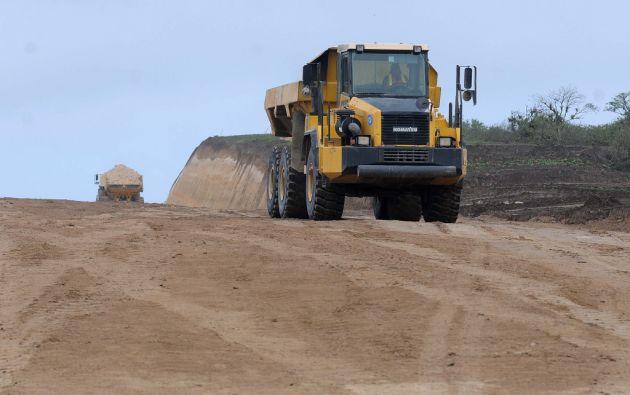 La Refinería del Aromo, cuyo terreno ya está listo, se extiende en un área total de 10 kilómetros cuadrados. Foto: Flickr de la Presidencia
