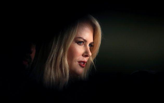 La estrella de Hollywood es este año la reina del certamen, ya que está presente en tres películas y una serie.   Fotos: Reuters.