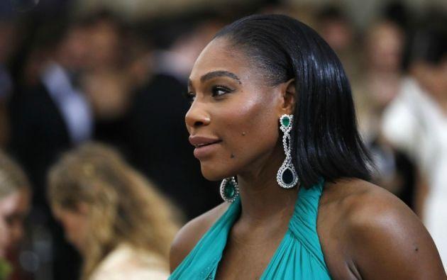 Serena Williams, el pasado 1 de mayo. | Foto: Reuters.