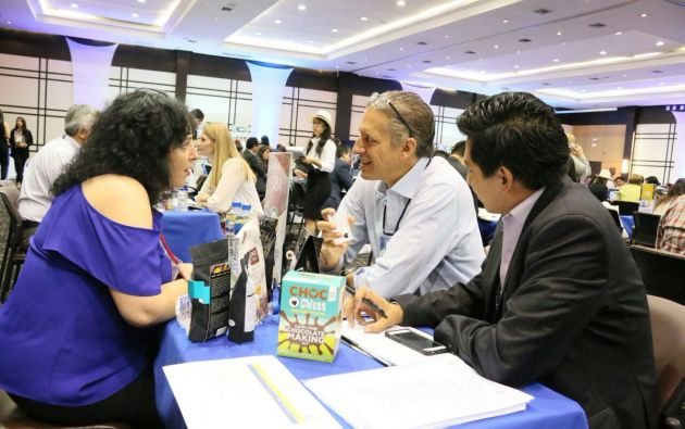 Al menos 180 compradores internacionales tendrán acercamientos con productores nacionales en la Macrorrueda de Negocios 2017. Foto: TW de Comercio Exterior