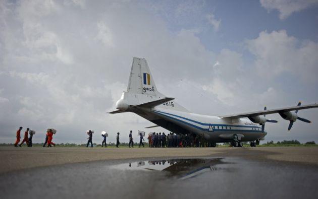 Foto de archivo del avión estrellado. | AFP.