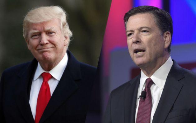 """Trump criticó al ex director del FBI y consideró que sus filtraciones a la prensa serán más """"prevalentes de lo que nadie creía posible"""", agregando la posibilidad de que sean ilegales."""