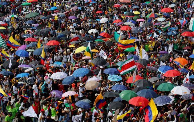 El presidente colombiano, Juan Manuel Santos, ya anunció que el Gobierno no tiene recursos para ofrecer más a los profesores. | Fotos: Reuters.