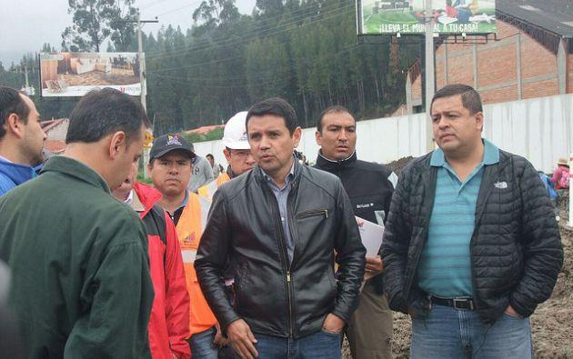 Walter Solís fue ministro de Transporte y Obras Públicas hasta septiembre de 2016. Foto: Flickr del MTOP