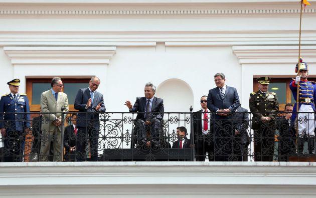 El presidente de la República, Lenín Moreno, autorizó mediante decreto ejecutivo N° 32 el primer indulto, solicitado por Patricio Marcelo Meza Saltos.  Foto: Flickr Presidencia.