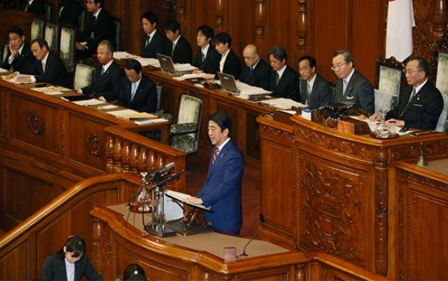 El gobierno justifica la nueva ley por cuestiones de seguridad, cuando se acercan a grandes pasos los Juegos Olímpicos de 2020 en Tokio.   Foto: Archivo.