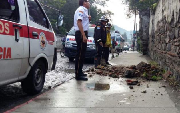 El temblor de 6,9 afectó Guatemala y El Salvador, y según los medios se sintió en Honduras. Foto: Tomado de La Prensa