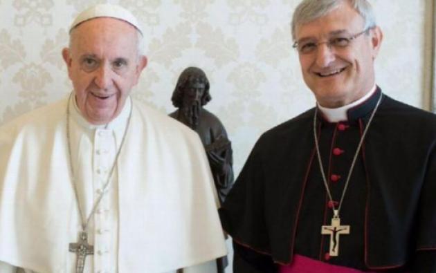 Francisco designó al español monseñor Andrés Carrascosa Coso nuevo nuncio apostólico en el país. Foto: Cortesía