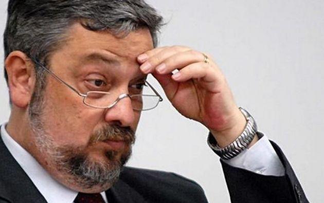 Palocci fue detenido a finales de septiembre del año pasado acusado de haber cobrado sobornos por parte del grupo Odebrecht. Foto: Tomado de Ámbito Financiero