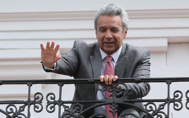 El Presidente Moreno ya ha indicado antes que en su Gobierno él pretende dialogar con políticos de oposición. Foto: Flickr Presidencia