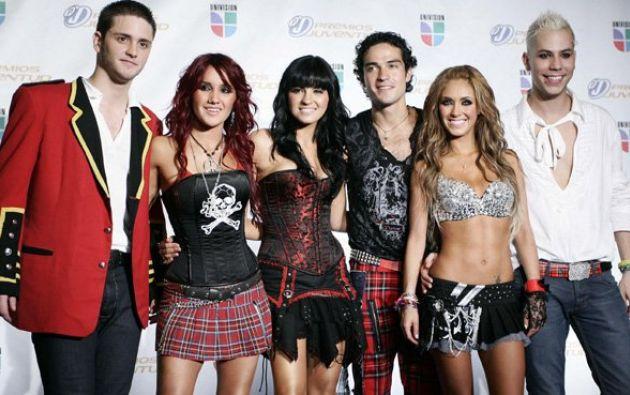 El grupo mexicano RBD se separó en 2009 y desde entonces varios de sus integrantes han retomado su carrera como solistas. Foto: Tomado de la República.pe