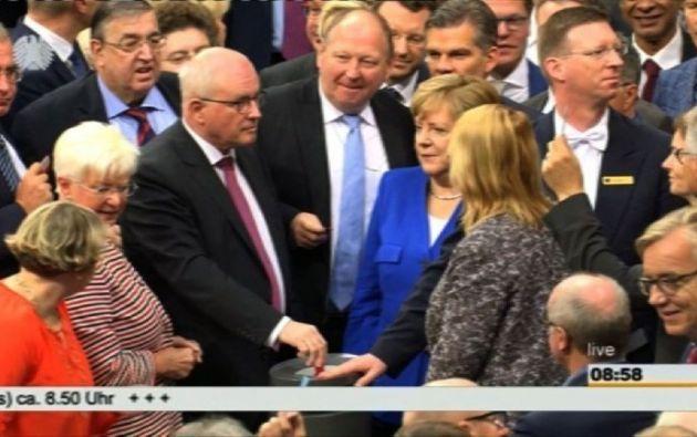 La ley sobre el matrimonio homosexual en Alemania se aprobó con 393 votos a favor, 226 en contra y cuatro abstenciones. Foto: AFP