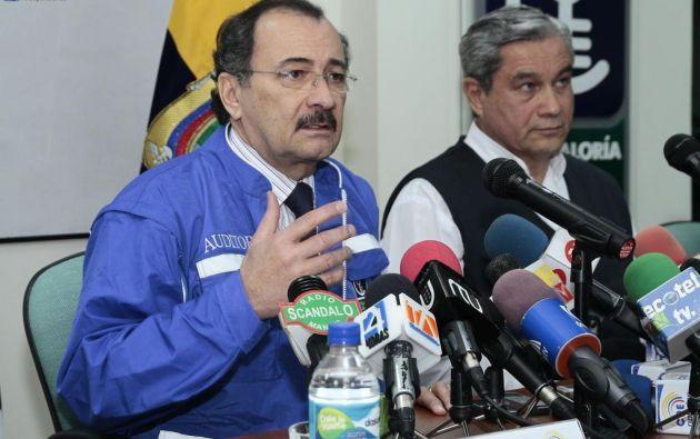 ECUADOR.- El excontralor es investigado por la Fiscalía General del Estado en el caso Odebrecht. Foto: Archivo