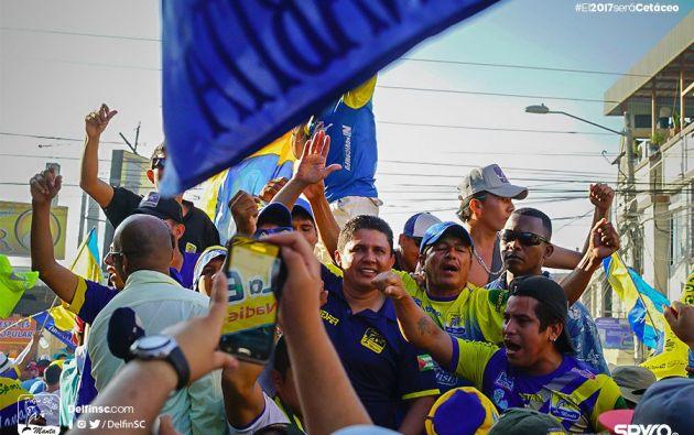 En 2018, el Delfín de Manta jugará su primera Copa Libertadores. Foto: Cortesía