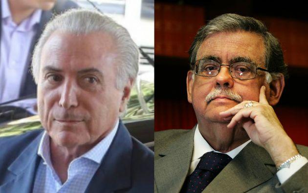 """La defensa del presidente de Brasil, Michel Temer, dijo que la denuncia por corrupción pasiva contra el mandatario es una """"verdadera creación mental"""". Foto Archivo"""