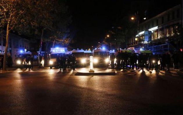 El tiroteo se produjo frente a la mezquita Arrahma, en Aviñón. Foto: @Behind__News