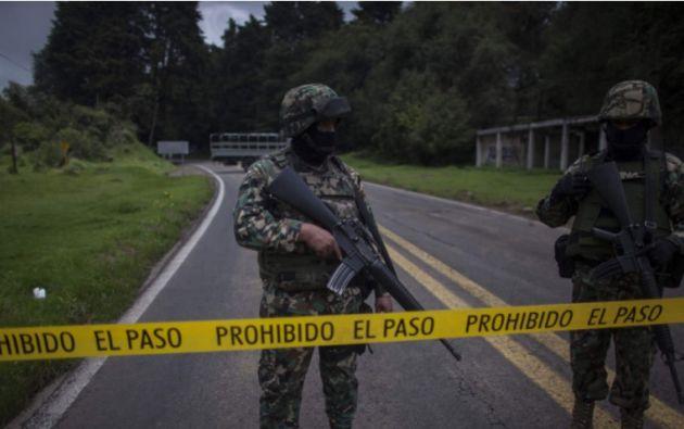"""""""La cifra todavía puede variar porque se están haciendo operativos en brechas y caminos"""" de la zona dijo el Fiscal de Chihuahua. Foto: El Nacional"""
