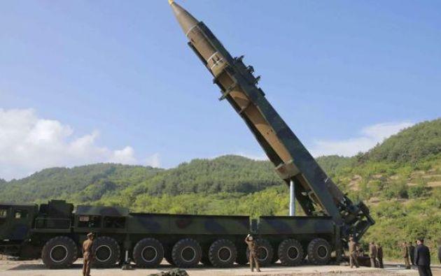 """""""Junto con la República de Corea, hemos realizado un ejercicio conjunto para demostrar la precisión de nuestra capacidad de fuego"""", dijo el Pentágono.  Foto: ABC"""