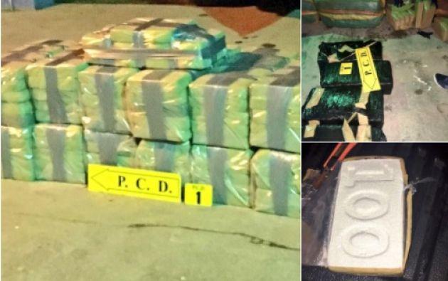 Los detenidos podrían ser acusados de tráfico internacional de drogas. Foto: Twitter