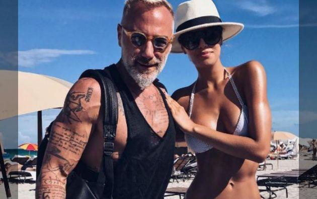 Ariadna compartió en su cuenta de Instagram una foto en la que ella y Vacchi aparecen juntos. Foto: Instagram