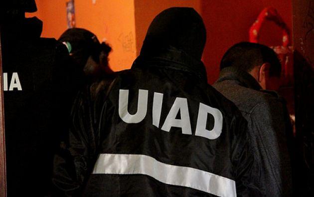 El operativo fue simultáneo en las cuatro provincias y tardó aproximadamente cuatro horas. Foto: Ministerio del Interior