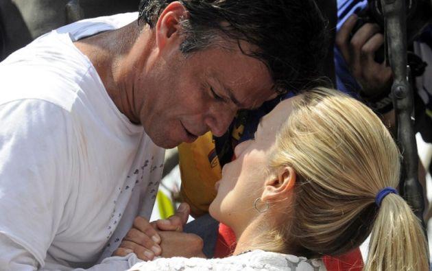 VENEZUELA.- El líder opositor pasa a cumplir el resto de su condena bajo arresto domiciliario. Foto: Archivo