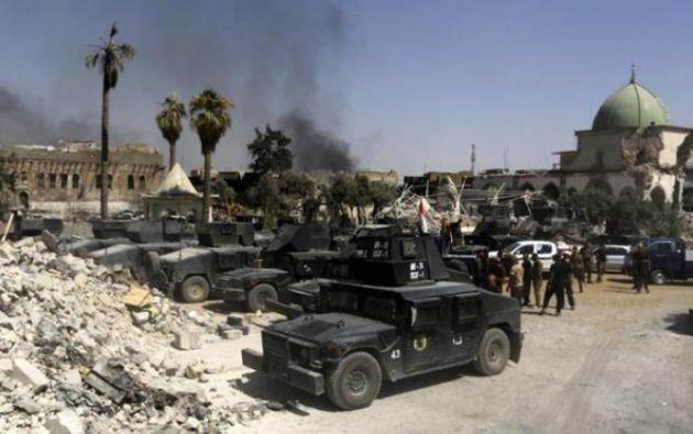 """el primer ministro, Haider al Abadi, declaró la víspera """"la victoria"""" en la lucha contra el Estado Islámico. Foto: La Prensa"""