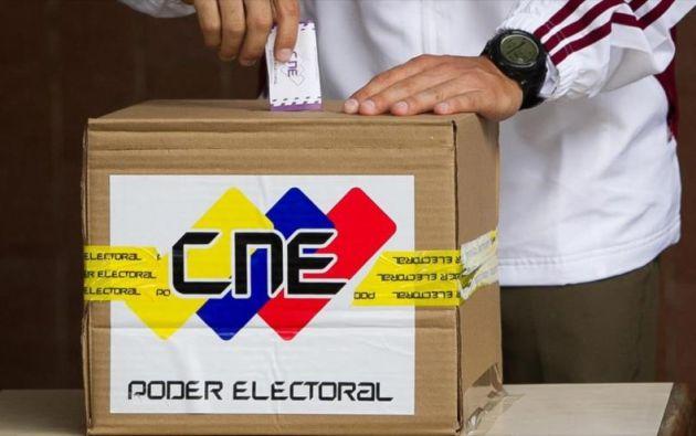 """El simulacro ha sido oficialmente denominado """"Feria electoral"""" por el CNE. Foto: Hispan TV"""