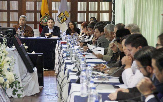 Los Gabinetes Itinerantes son una iniciativa que busca acercar al Estado con la comunidad y fueron creados por el gobierno de Correa. Foto: El Ciudadano