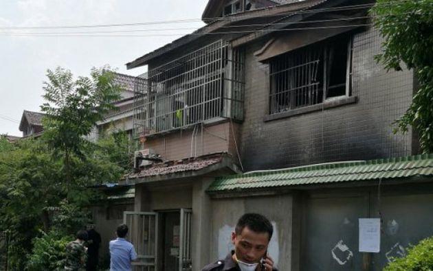 El suceso se produjo sobre las 4.30 hora local en una casa de dos plantas de la localidad de Changshu. Foto: redes