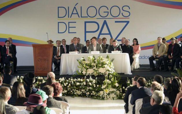 El Gobierno de Colombia y el ELN abrieron el pasado 7 de febrero en la capital ecuatoriana un proceso de diálogo. Foto: Archivo.