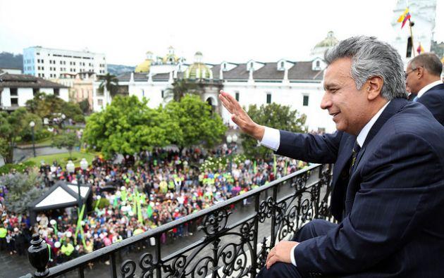 """Moreno: """"tengan la confianza de que estamos preparados para salir adelante y dinamizar nuestra economía"""". Foto: Flickr Presidencia"""