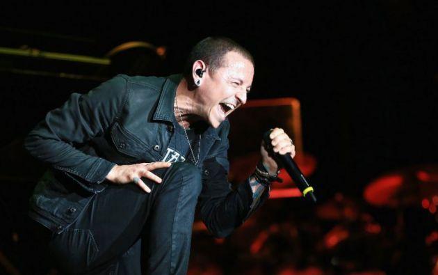 El vocalista de Linkin Park se habría ahorcado en una residencia privada en Los Angeles. Foto: AFP