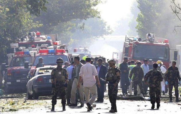 El ataque también dejó más de cuarenta heridos, indicó el portavoz de la presidencia afgana, Shah Hussain Murtazawi. Foto: Andina