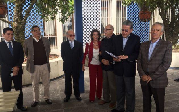 """CNA: """"En el Ecuador se ha generado una gran maniobra para dejar en la impunidad actos de corrupción"""". Foto: Ecuavisa"""