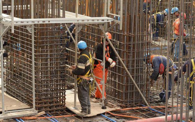 Según el Banco Central, durante el primer trimestre de 2017, La construcción fue el sector económico con peor evolución. Foto referencial